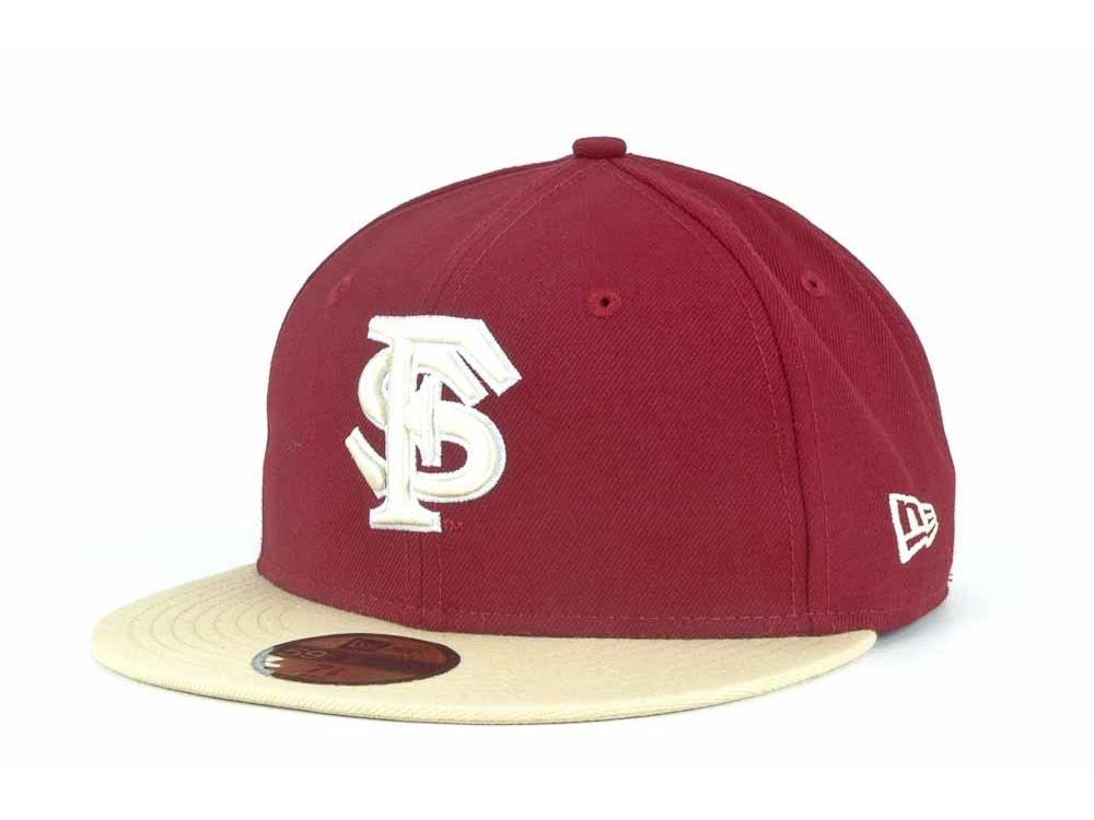 Florida State Seminoles New Era NCAA 2 Tone 59FIFTY Cap  1fcf03055719