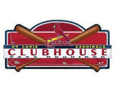 St. Louis Cardinals Clubhouse Sign