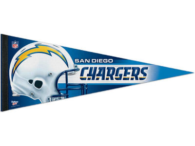 San Diego Chargers 12x30in Pennant