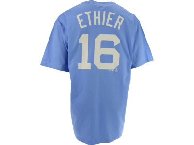 Brooklyn Dodgers Andre Ethier Majestic MLB Men's Cooperstown Player T-Shirt