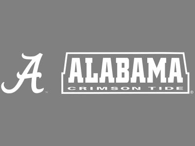 "Alabama Crimson Tide Die Cut Decal 8""x8"""