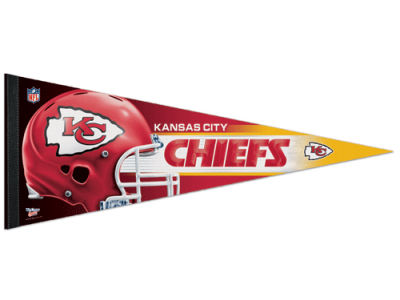 Kansas City Chiefs 12x30in Pennant