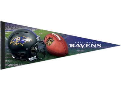 Baltimore Ravens 12x30in Pennant