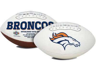 Denver Broncos Signature Series Football