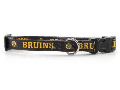 Boston Bruins Large Dog Collar