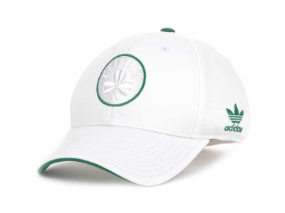 Boston Celtics adidas NBA White Swat IV Cap