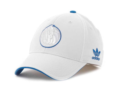 Dallas Mavericks adidas NBA White Swat IV Cap