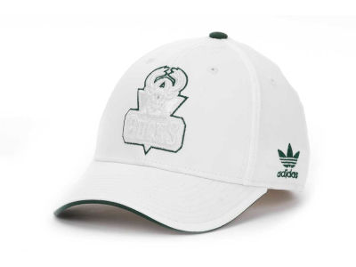 Milwaukee Bucks adidas NBA White Swat IV Cap