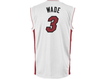 Miami Heat Dwyane Wade adidas NBA Rev 30 Replica Jersey