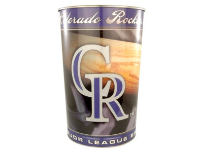 Colorado Rockies Trashcan