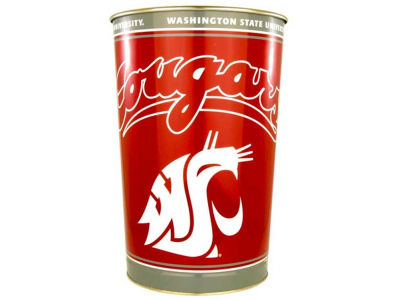 Washington State Cougars Trashcan