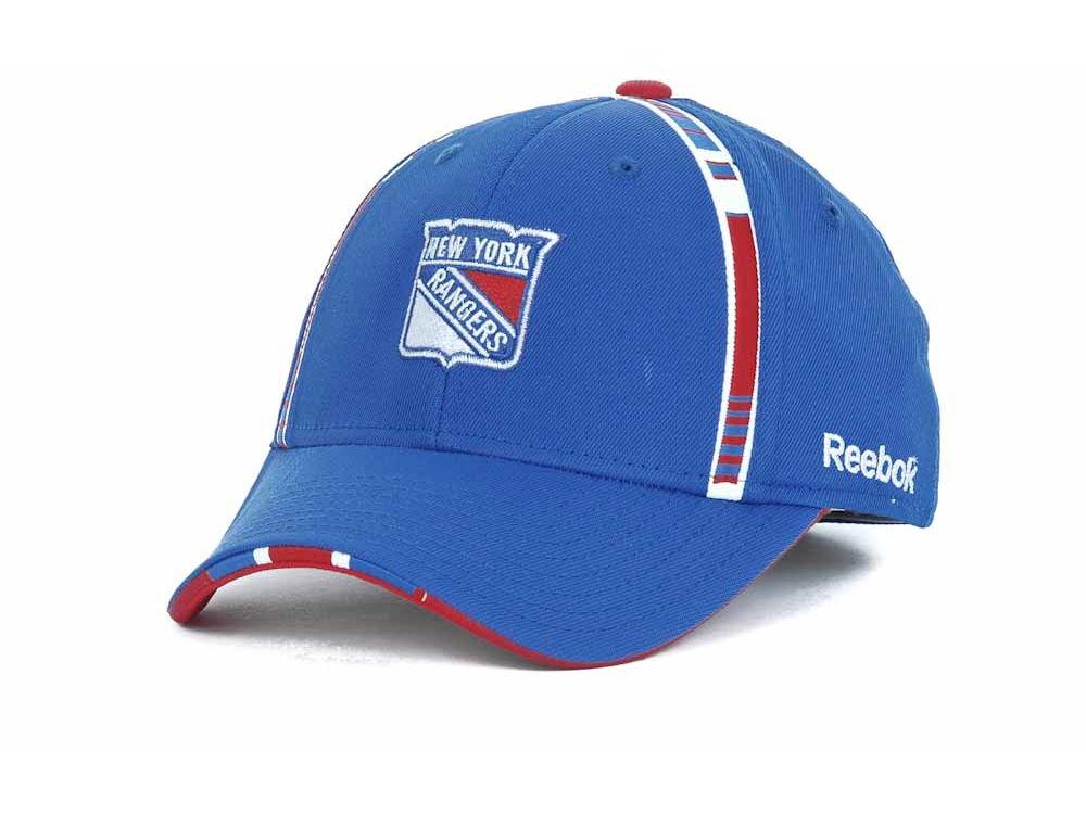 lowest price 7f3ad f4731 ... top quality new york rangers reebok nhl draft hats a238e 06efb ...