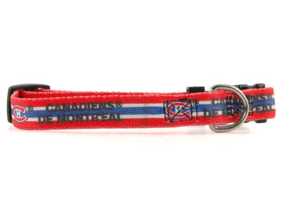 Montreal Canadiens Medium Dog Collar