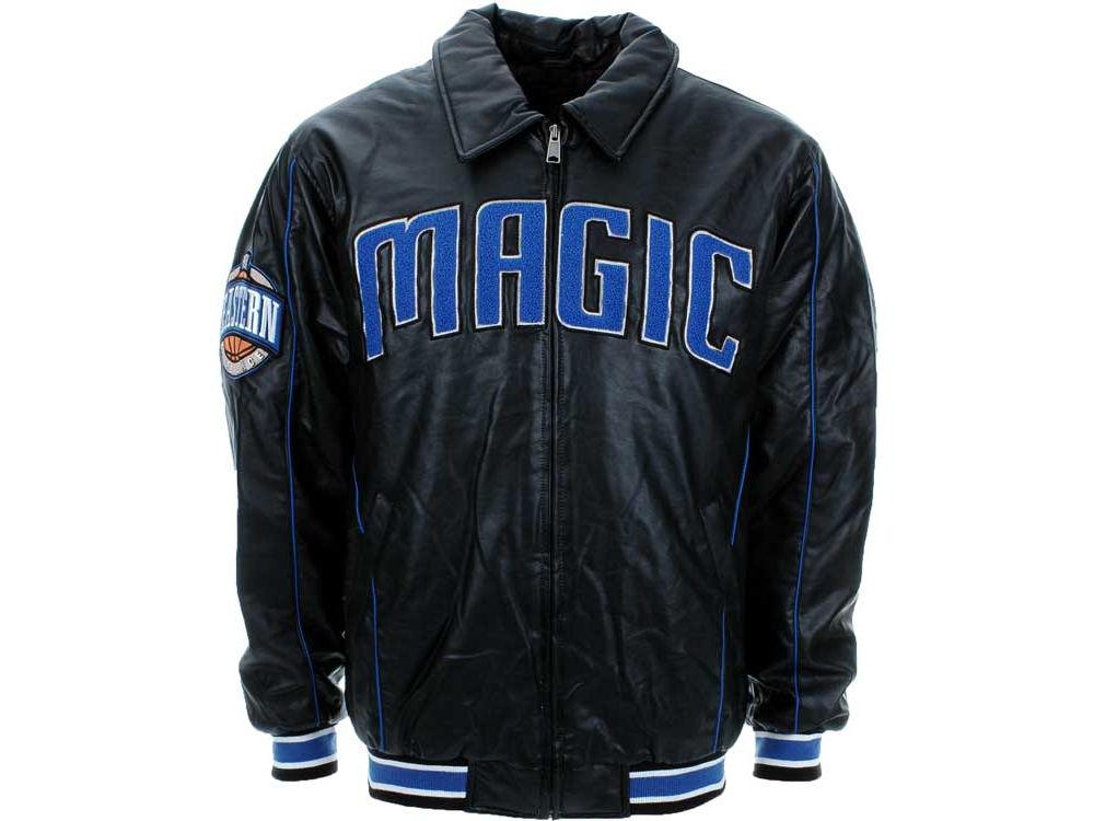 dec4a0aa915 Orlando Magic NBA Faux Leather Jacket