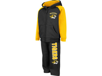 Missouri Tigers NCAA Toddler Charger Fleece Set