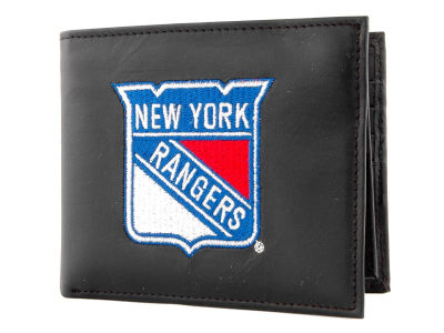 New York Rangers Black Bifold Wallet