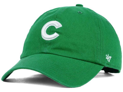 Chicago Cubs '47 MLB Kelly White '47 CLEAN UP Cap