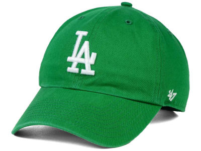 Los Angeles Dodgers '47 MLB Kelly White '47 CLEAN UP Cap