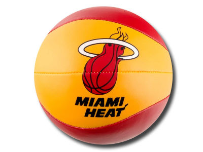 Miami Heat 4in Softee Free Throw Basketball