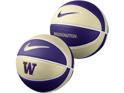 Washington Huskies Nike NCAA Mini Rubber Basketball