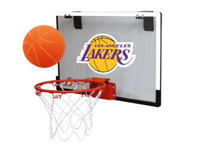 Los Angeles Lakers Game On Polycarb Hoop Set