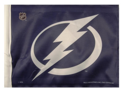 Tampa Bay Lightning Car Flag
