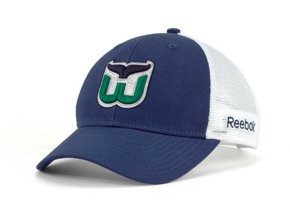 Hartford Whalers Reebok NHL Sin Bin Cap  07a04fcf85b0