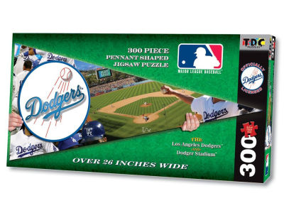 Los Angeles Dodgers MLB Pennant Puzzle