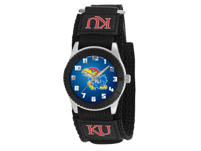 Kansas Jayhawks Rookie Kids Watch Black