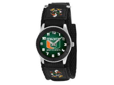 Miami Hurricanes Rookie Kids Watch Black