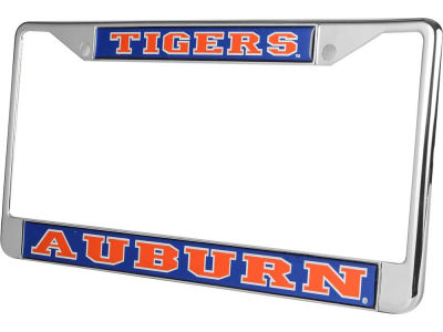 Auburn Tigers Domed Frame Chrome