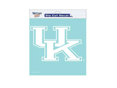 "Kentucky Wildcats Die Cut Decal 8""x8"""