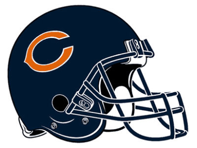 Chicago Bears 8in Car Magnet