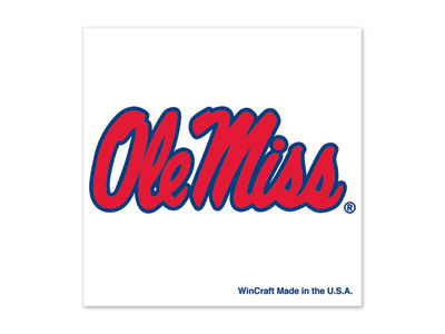 Ole Miss Rebels Tattoo 4-pack