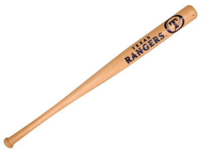 Texas Rangers Baseball Bat 18in
