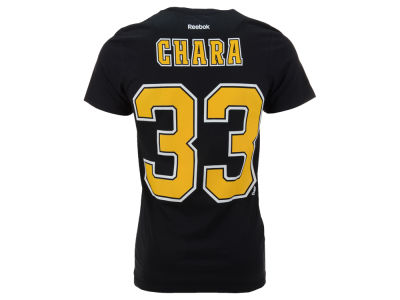 Boston Bruins Zdeno Chara Reebok NHL Men's Player T-Shirt
