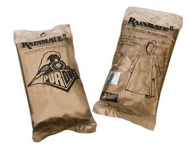 Purdue Boilermakers PVC Poncho