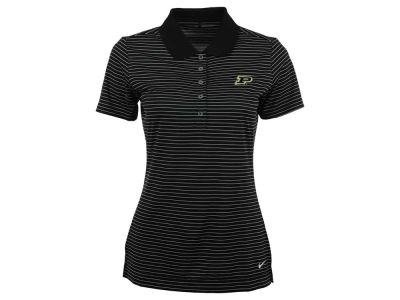 Purdue Boilermakers Nike NCAA Womens Tech Stripe Polo