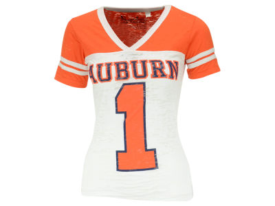 Auburn Tigers NCAA Womens Wingback Burnout Jersey