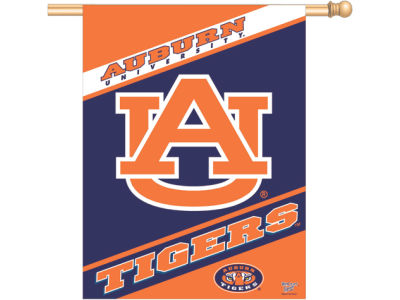 Auburn Tigers Vertical Flag