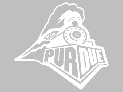 "Purdue Boilermakers Die Cut Decal 8""x8"""