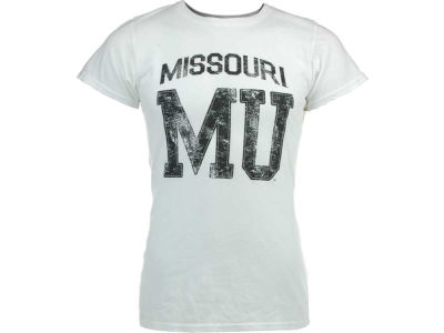 Missouri Tigers Blue 84 NCAA Damaged Numerals T-Shirt
