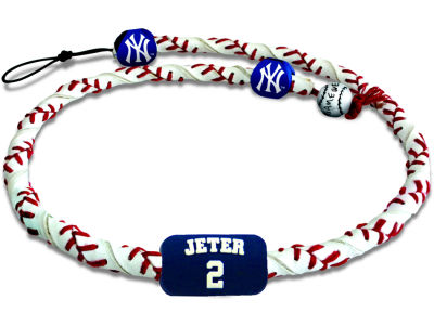 New York Yankees Derek Jeter Frozen Rope Necklace