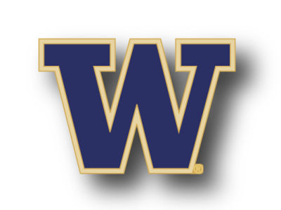 Washington Huskies Logo Pin