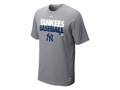 New York Yankees Nike MLB Men's AC Dri-Fit Cotton Graphic T-Shirt