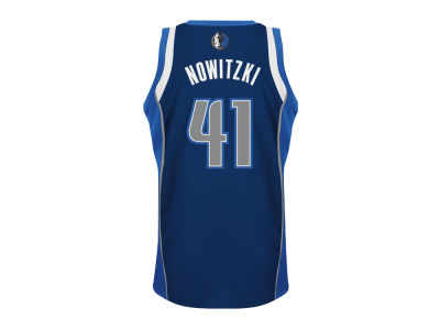 Dallas Mavericks Dirk Nowitzki adidas NBA Revolution 30 Swingman Jersey
