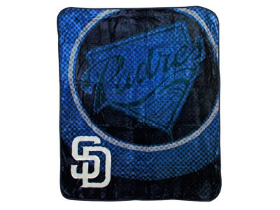 San Diego Padres 50x60in Plush Throw Blanket