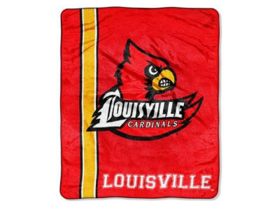Louisville Cardinals 50x60in Plush Throw Blanket