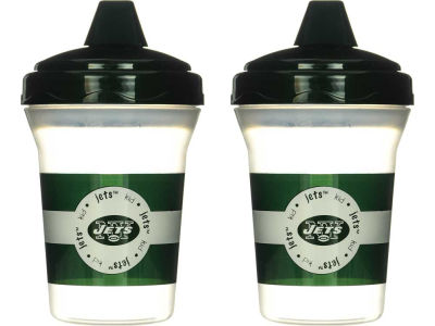 New York Jets 2-pack Sippy Cup Set