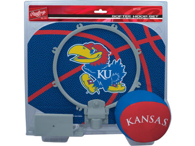 Kansas Jayhawks Slam Dunk Hoop Set